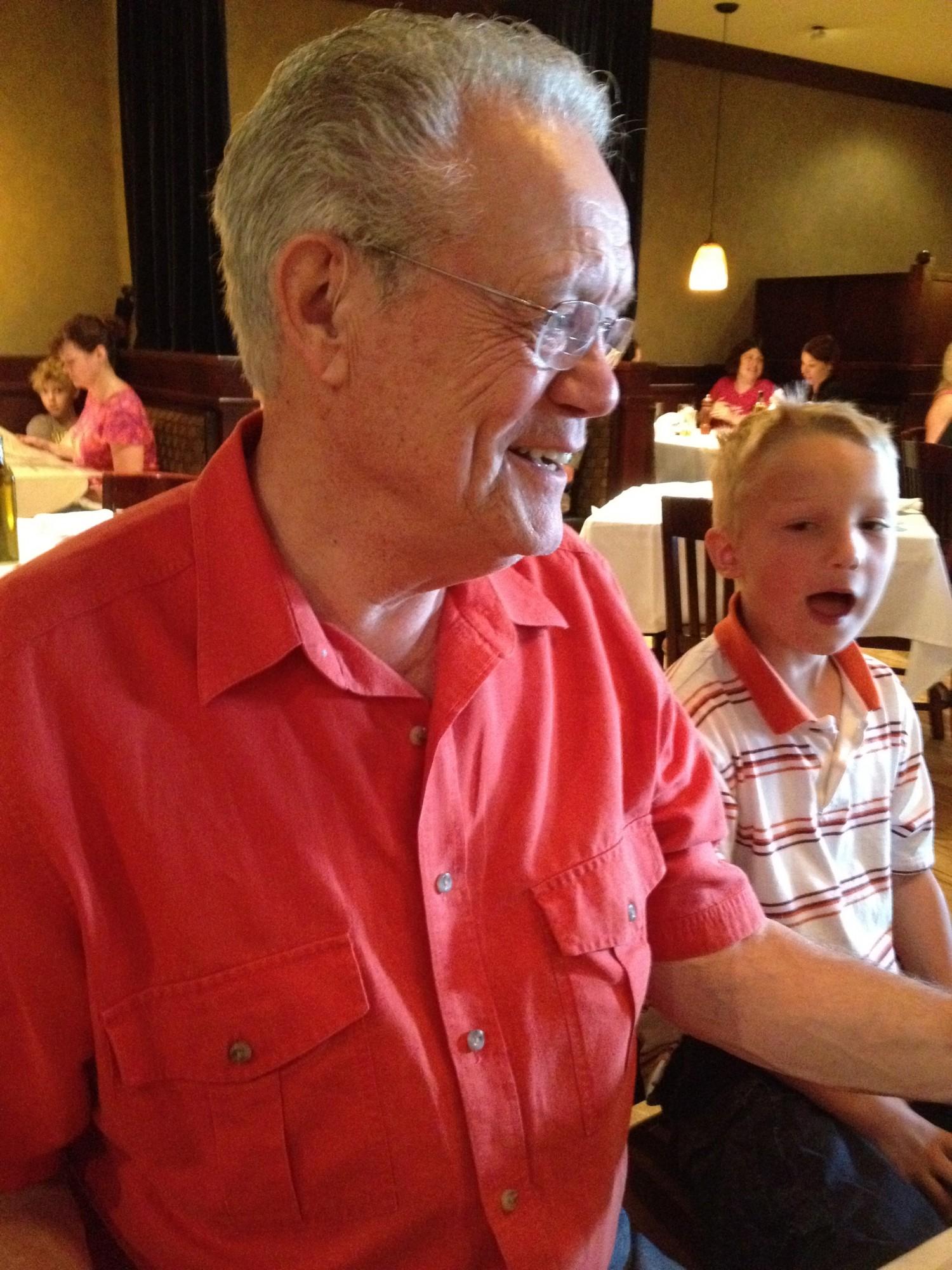 Grandpa is 70 6ftmama.com