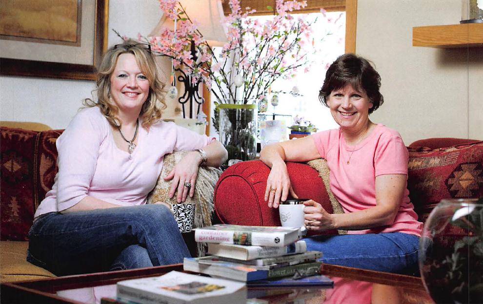 Growing Together Jennifer Ebeling Judy Strobel April 2009 Maple Grove Magazine