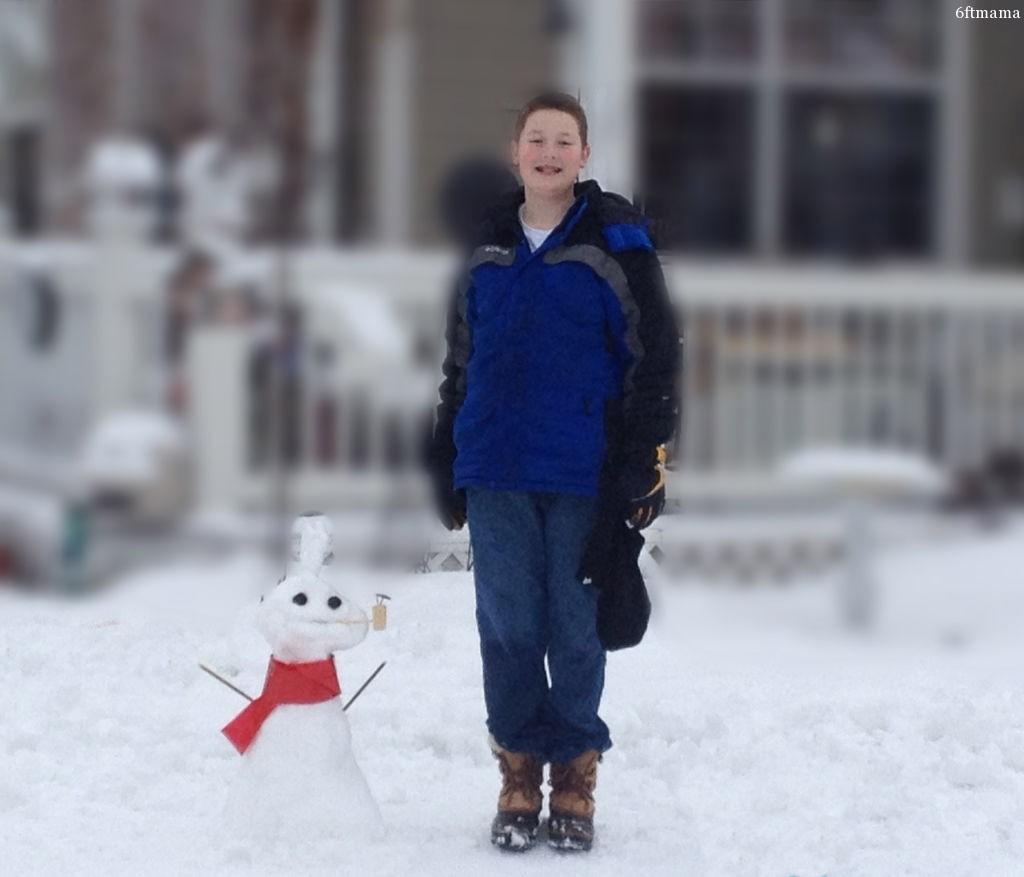 Will & Snowman