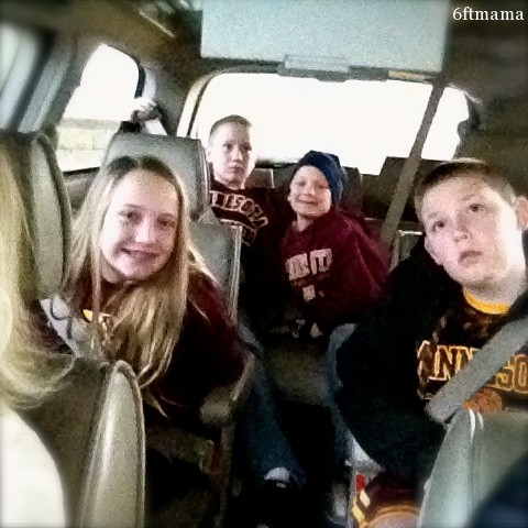 Kids in Car Gopher Game