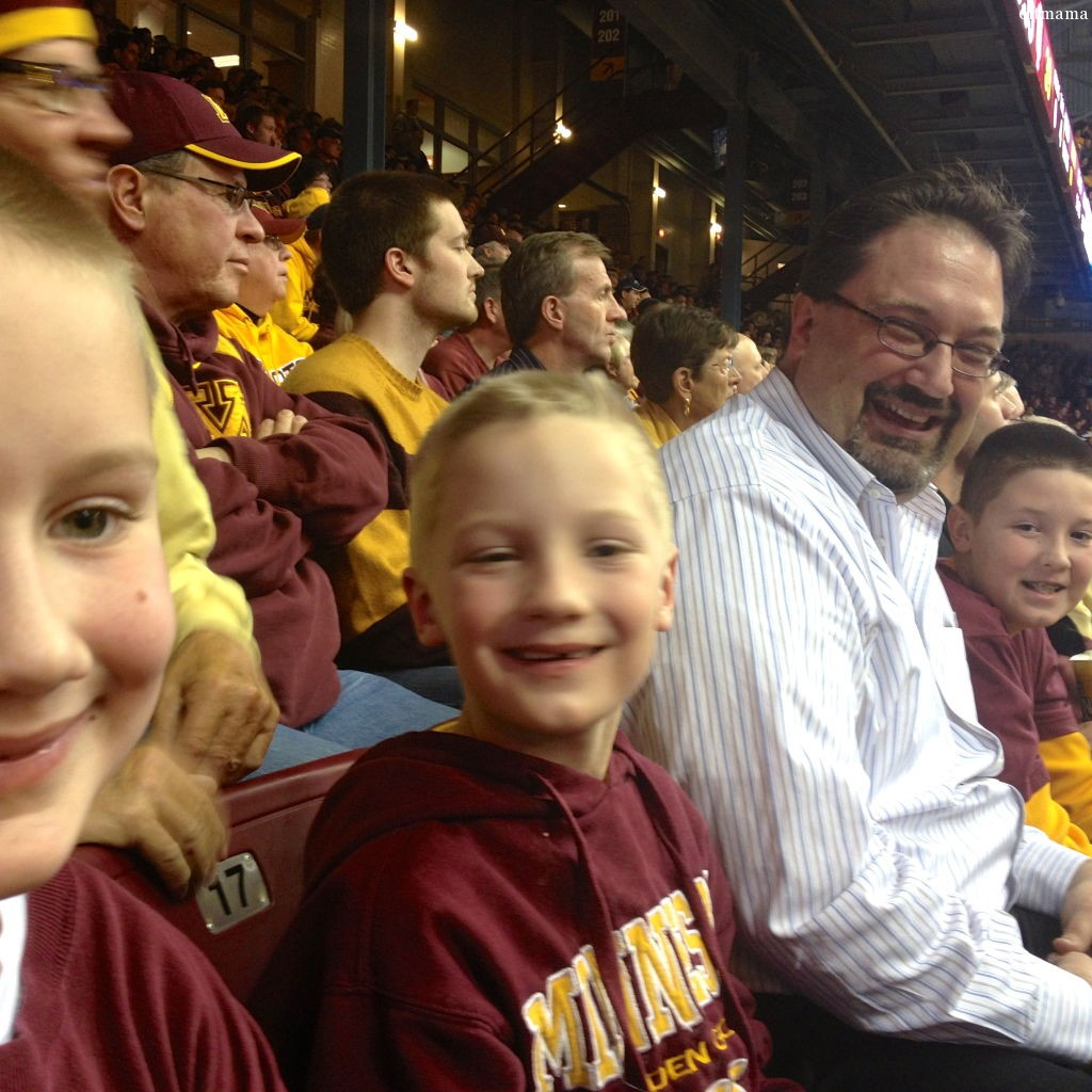 The Boys at the Gopher Game