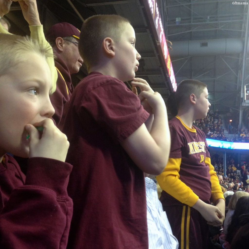 Pj john and will tense watching golden gophers