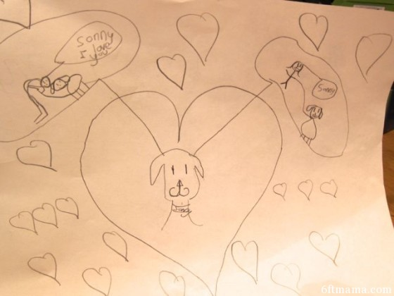Sonny hearts art