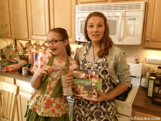 Emma and Taylor Baking Surprise