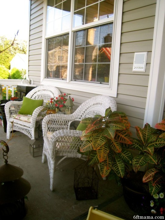 Freshen Up Your Porch