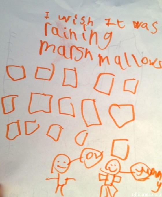 Raining Marshmallows