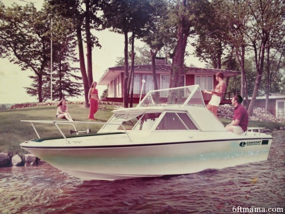 70s lake photo