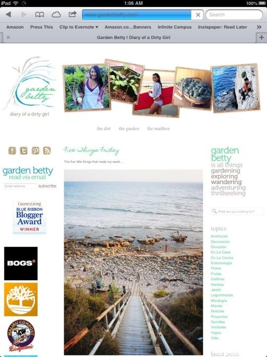 The Best Garden Bloggers 2013 Garden Betty