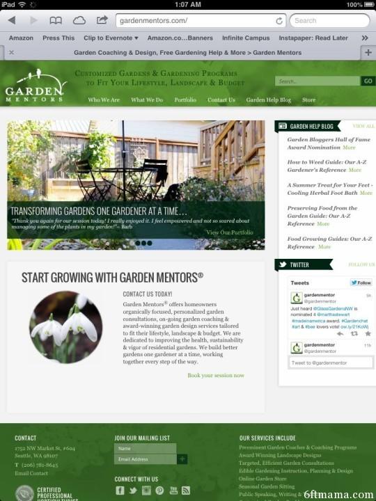 The Best Garden Bloggers 2013 Garden Mentors