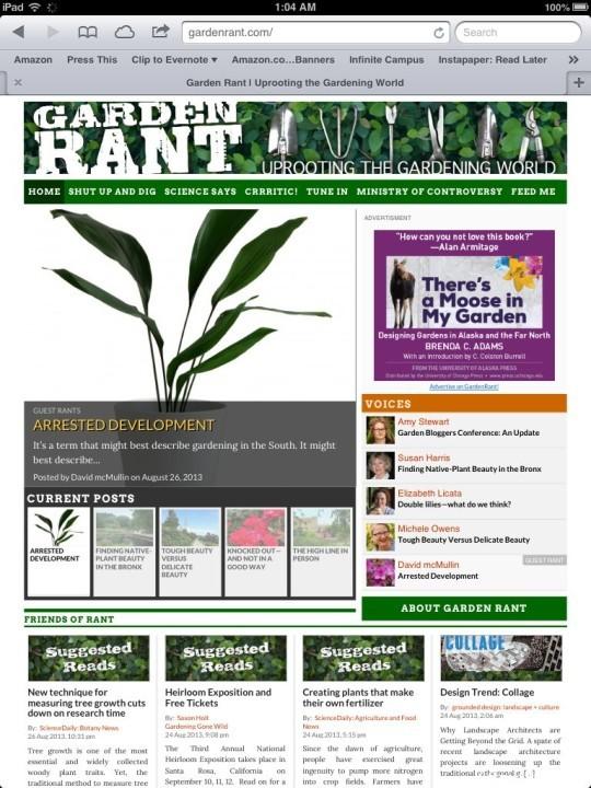 The Best Garden Bloggers 2013 GardenRant