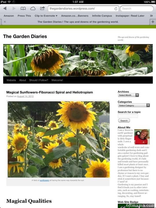 The Best Garden Bloggers 2013 The Garden Diaries