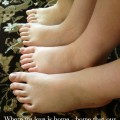 Family Shoe Size Chart - Keeping Track of Growing Feet