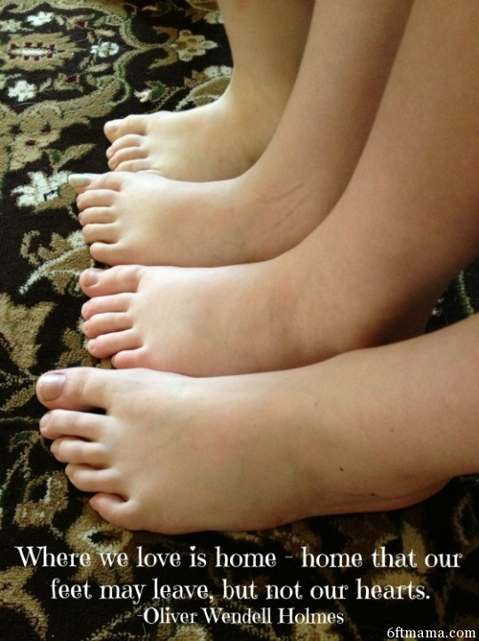 kidsfeet with quote