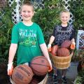 Basketball Gardening 6ftmama