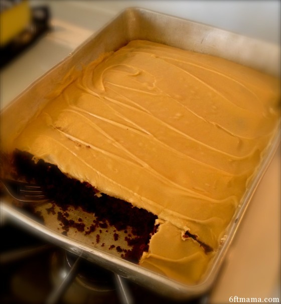 Quick Carmel Frosting