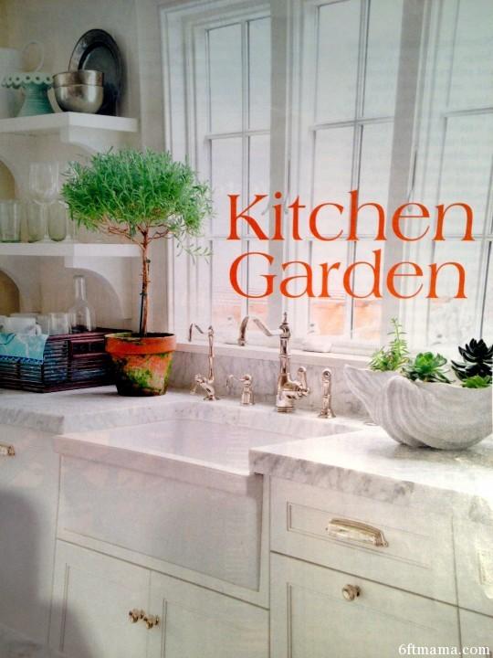 Kitchen Garden 6ftmama.com