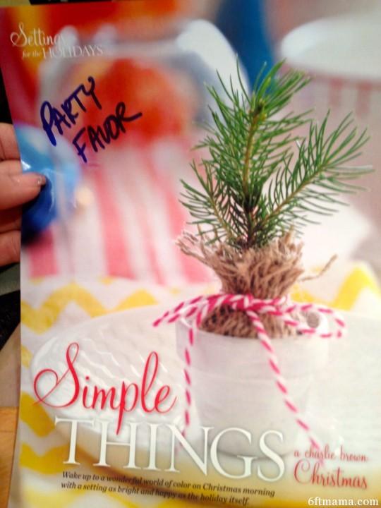 Spruce Party Favor 6ftmama.com