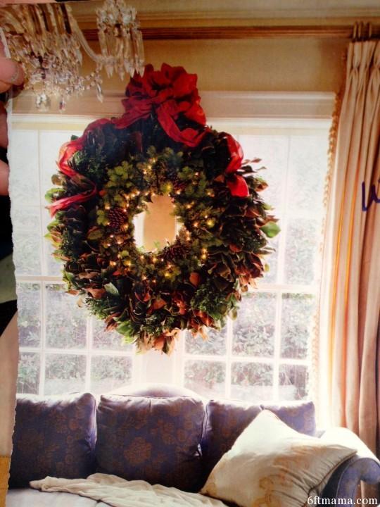 Window Wreath 6ftmama.com