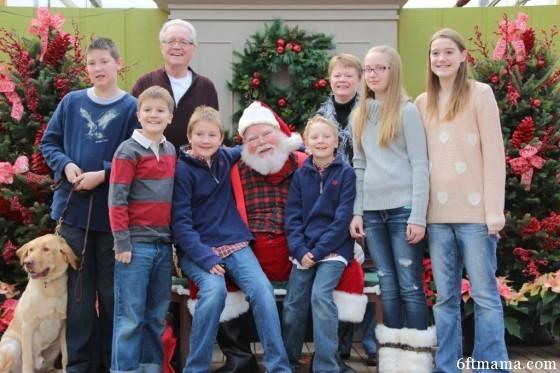 Grandkids Santa Tonkadale 6ftmama.com