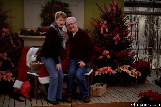 mom standing santa tonkadale 2013 6ftmama.com
