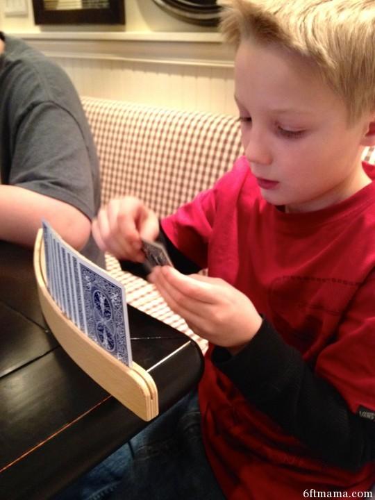 John Sevens Card Game Card Sorter 6ftmama.com