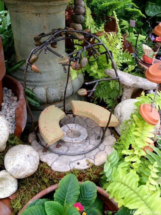Arbor in Clay Pot Kingdom 6ftmama.com