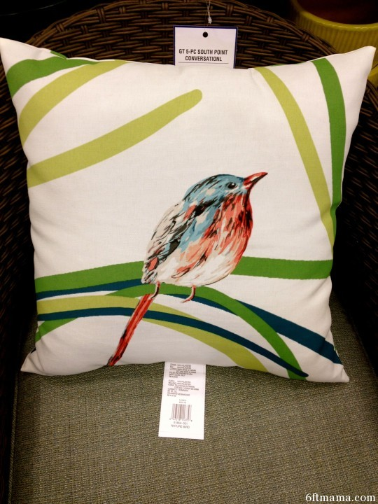 Bird Pillow on white 6ftmama.com