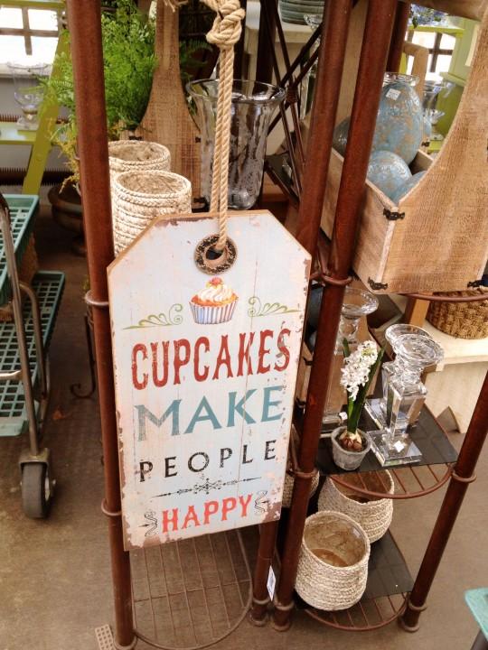 Cupcakes Sign 6ftmama.com