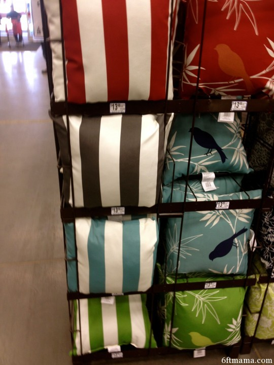 Pillow selection 2 lowes 6ftmama.com