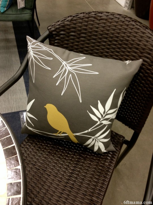 greyed bird pillow 6ftmama.com