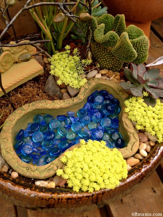 pond clay pot kingdom 6ftmama.com