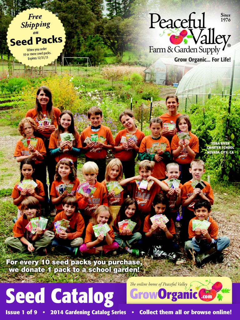 SG524 The Peaceful Valley Grow Organic Seed Catalog With Sarah Griffin  Boubacar