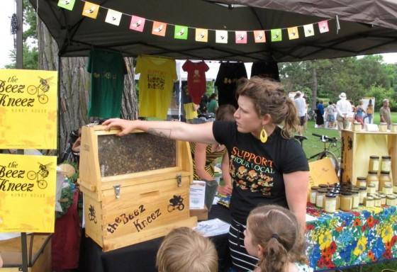 The Beez Kneez bee education pollinator party 6ftmama.com