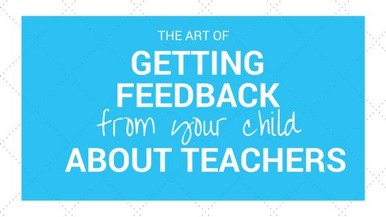 Teacher Feedback 6ftmama blog