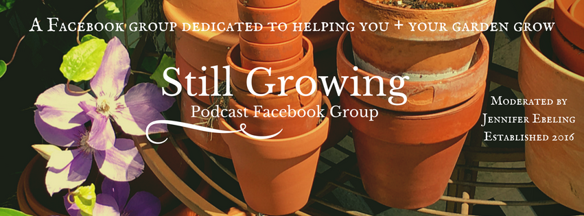 Join the Still Growing Facebook Group