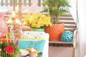 Front Porch Spring Fiesta  Bachman's Spring Idea House 2016