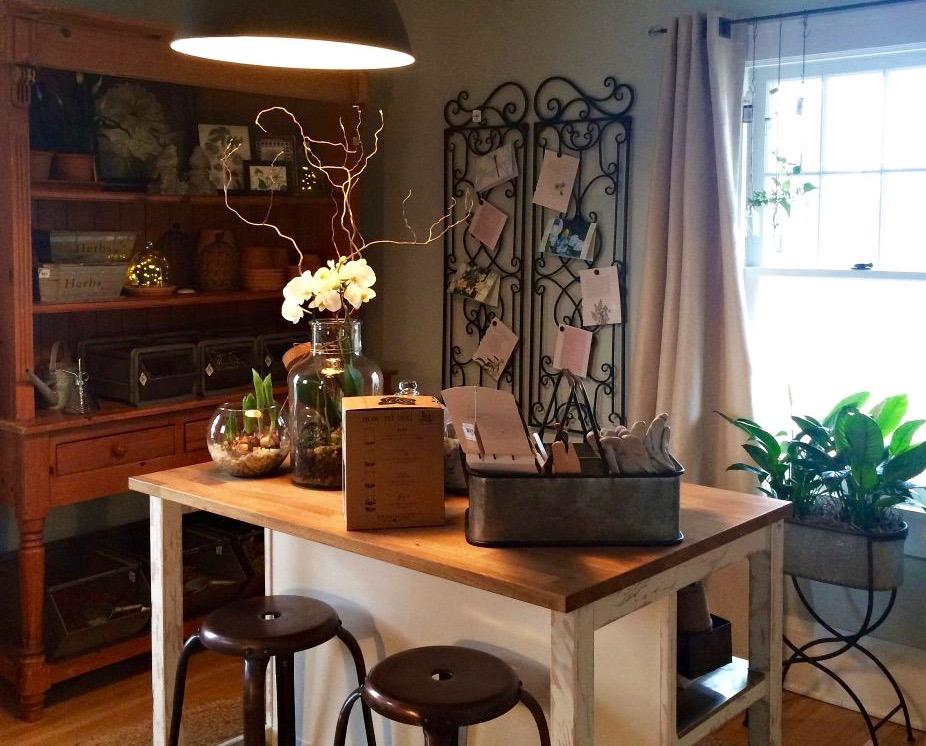 Gardener's Indoor Potting Room (1)