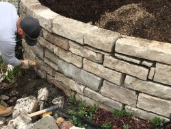 Garden Project 1 Retaining Wall Repair