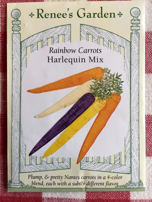 Harlequin Mix Rainbow Carrots Renee's Garden