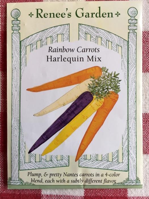 Harlequin Mix Rainbow Carrots Renee's Garden