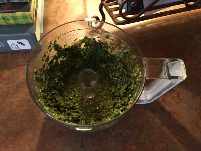Pesto Certified First Batch of Kid Made Pesto