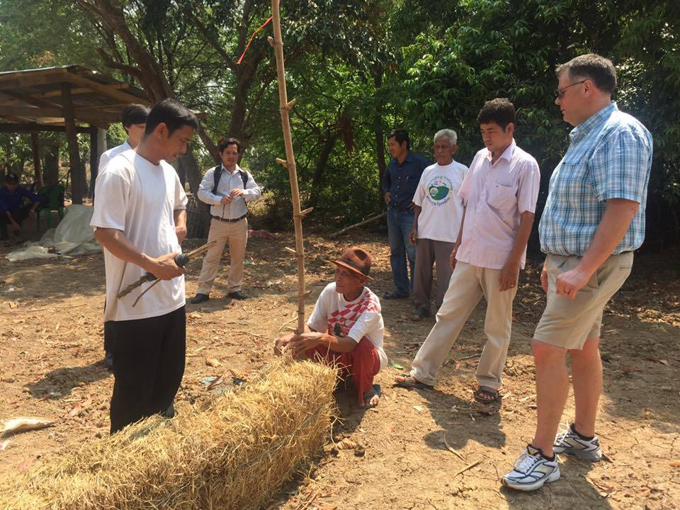 Sg556 Joel Karsten Helps Farmers In Cambodia And How Straw Bale Gardens Solves The Toughest