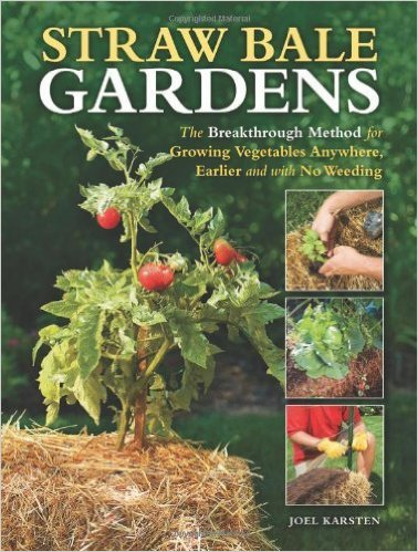 Straw Bale Gardens by Joel Karsten on the Still Growing Gardening Podcast 6ftmama blog