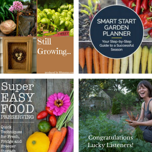 The Still Growing Gardening Podcast Featuring Megan Cain Lucky Listeners Win Her Two Books
