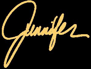 Jennifer Yellow sig